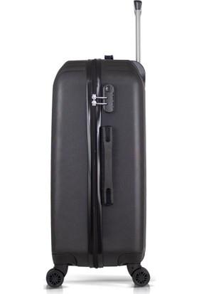 Tiger Hiking Basic Abs 3 lü Valiz, Bavul Seti (Kabin+Orta+Büyük Boy)