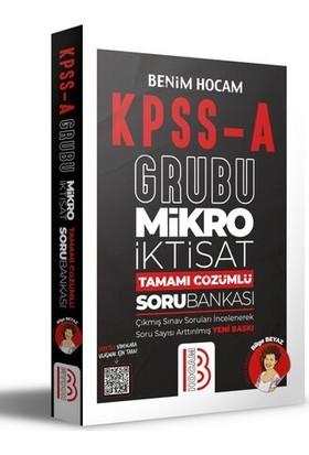 Benim Hocam Yayınları KPSS A Mikro İktisat Tamamı Çözümlü Soru Bankası - Bilge Beyaz