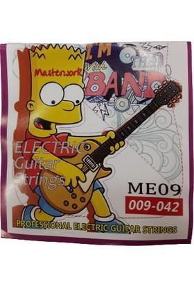 Band Elektro Gitar Teli ME09