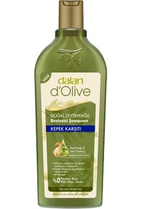 Dalan D'olive Doğal Zeytinyağlı Kepek Karşıtı Besleyici Şampuan 400 ml