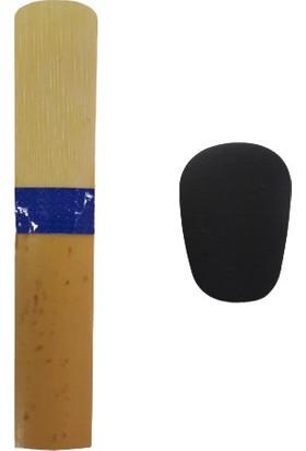 Masterwork Mavi Kuşak-Klarnet Kamışı 1 Numara + Dişlik 0.8 mm Bg Franck