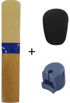 Masterwork Mavi Kuşak - Klarnet Kamışı 1 Numara + Dişlik 0.8 mm Bg Franck + Parmaklık