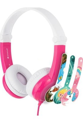 BuddyPhones Connect Çocuk Kulaklık Pembe