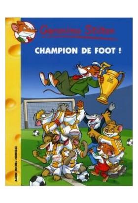 Champion de foot (Tome 28) - Geronimo Stilton