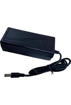 Özmeriç Adaptör 12V 5A/220 Güvenlik Kamera ve LED Adaptörü Özmer Zmr-Pa-4