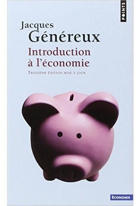 Introduction a l'economie - Jacques Genereux