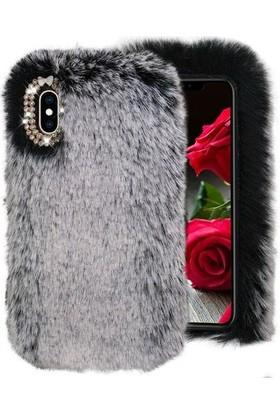 Vefa iPhone X/xs Tüylü Peluş Kılıf