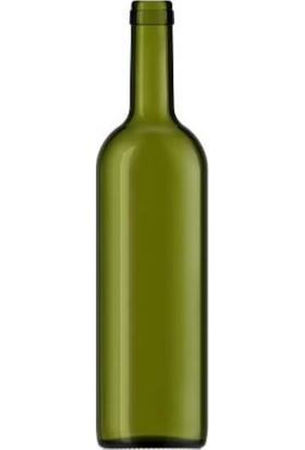 Şişecam 35 Adet 750CC Cam Şişe Mantarlı Şarap Yağ Şişesi Zeytin Yeşili 599475