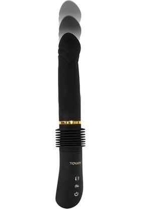 Toyjoy Magnum Opus Thruster Ileri Geri Vibratör ve Playboy Masaj Yağı