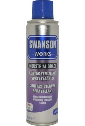 Swanson Works Kontak Devre Temizleyici Sprey (Yağsız) 250 ml