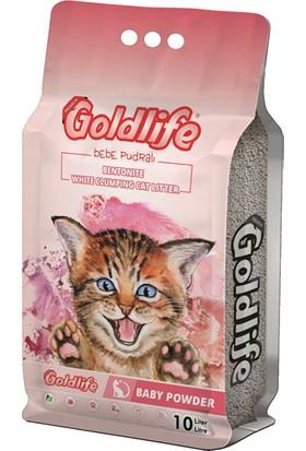 Goldlife Kedi Kumu Bebe Pudralı