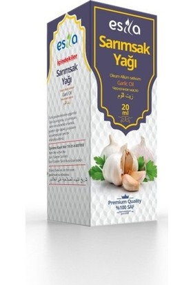 Esila Sarımsak Yağı 20 ml