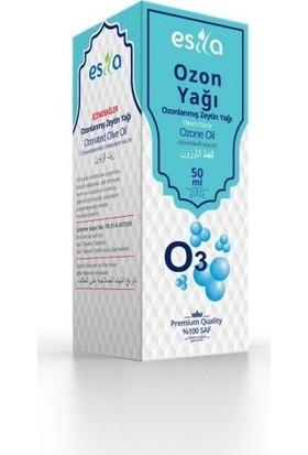 Esila 2 Adet Esila Ozon Yağı Ozonlanmış Zeytin Yağı 100 ml