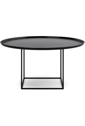 Marlin Home Design Teppa Metal Siyah Orta Sehpa