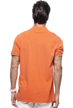Blue Petrol Turuncu Erkek T-Shirt