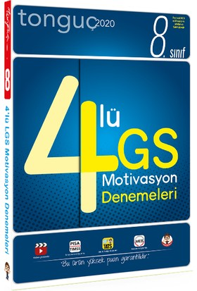 Tonguç 8. Sınıf LGS Deneme Seti - 4 Kitap