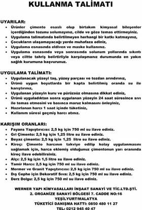 WERNER Tamir Harcı