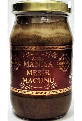 Manisa Mesir Macunu Cam Kavanoz 400 gr
