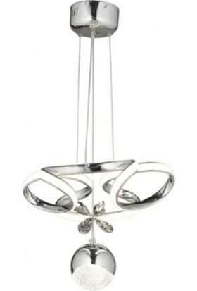 Burenze Luxury Modern Sarkıt LED Avize Krom BURENZE650