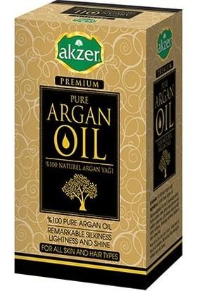 Akzer Yüzde Yüz Natural Argan Yağı 60 ml 2 'li