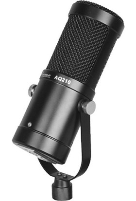 Ally Studio AL-33246 AQ210 Condenser Stüdyo Profesyonel Kayıt ve Yayın Mikrofonu