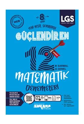Ankara Yayıncılık 8. Sınıf Matematik Güçlendiren Denemeleri - 12 Adet