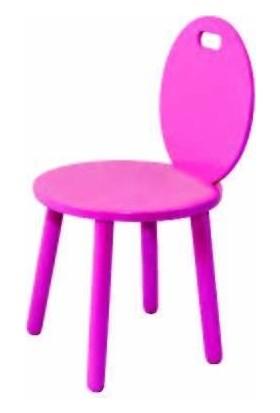 Edu Toys Renkli Ahşap Sandalyeler