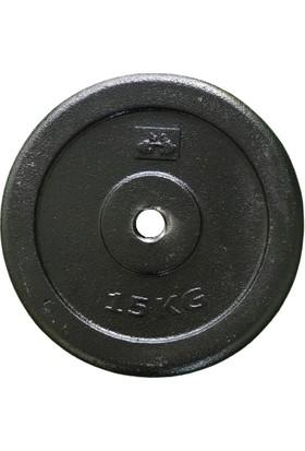 313 Spor 15 kg Kauçuk Kaplı Ağırlık Plakası