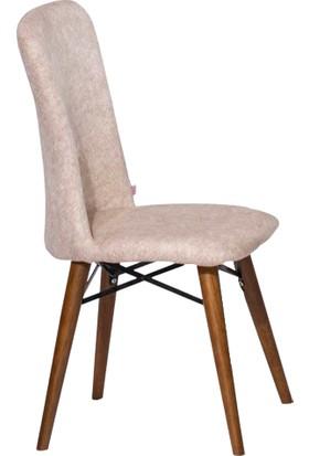 Enzi EN653 Ahşap Ayaklı Sandalye