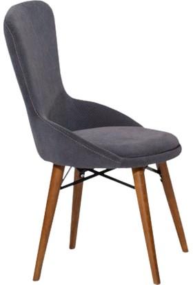 Enzi EN649 Ahşap Ayaklı Sandalye