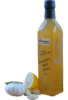 Yöreden Mutfağa Sarımsaklı Limonlu Sirke 500 ml
