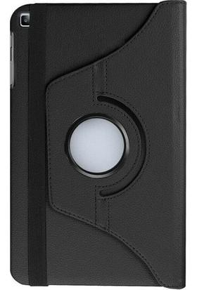 """Gogo Samsung Galaxy Tab S6 Lite SM-P610 10.4"""" Kılıf 360 Derece Dönebilen Standlı Tam Koruma Akıllı Kapak Siyah"""