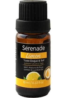 Serenade %100 Doğal Limon Uçucu Aromaterapi Cilt Bakım ve Masaj Yağı 10 ml