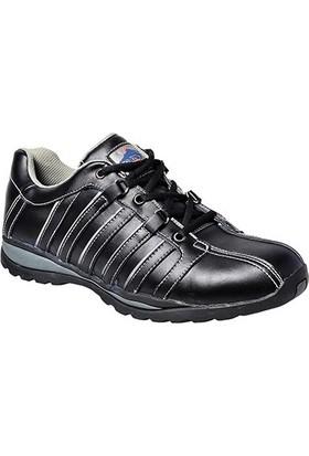 PortWest FW33 - Steelite Arx Güvenlik Ayakkabısı S1P Hro Siyah