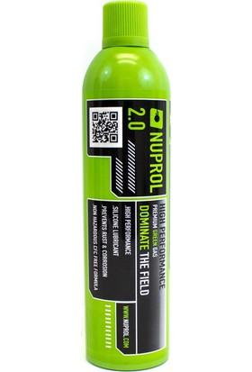 Nuprol 2.0 Air-Soft Green Gas (Büyük Boy)