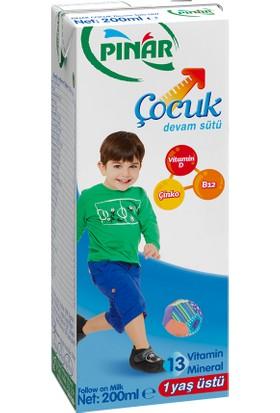 Pınar Çocuk Devam Sütü 200 ml 27 'li