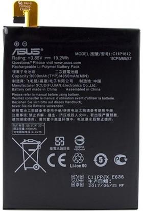 Kvy Asus Zenfone 4 Max (ZC554KL) C11P1612 Batarya Pil 5000 mAh