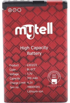 mytell Nokia 6303 Bl-5ct Batarya