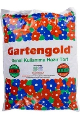Gartengold Genel Kullanım Torfu(2,5 Lt.)