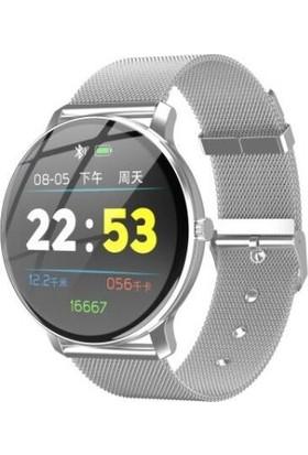 Yukka R88 Silver Su Geçirmez Spor Bluetooth Fonksiyonel Akıllı Bileklik (Yurt Dışından)