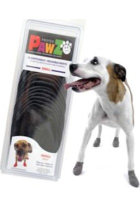 Pawz Siyah Köpek Galoşu Medium 12'Li