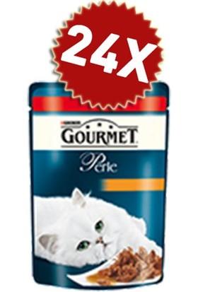 Gourmet Perle Izgara Sığır Etli Kedi Konserve 85 gr 24 Adet