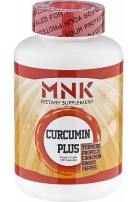 MNK Curcumin Plus 120 Kapsül, Propolis, Tarçın, Zencefil, Karabiber