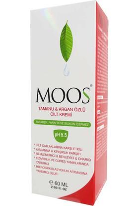 Moos Tamanu And Argan Oil Skin Cream 60 ml
