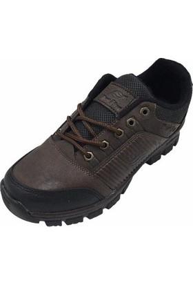 New Plus Outdoor Kahve Siyah Erkek Günlük Ayakkabı
