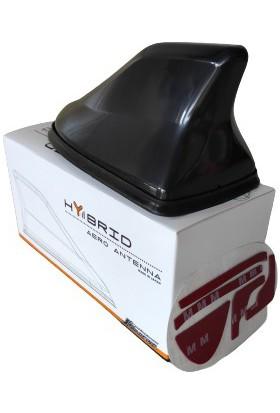 Hybrid Aero Anten Siyah Güçlü Çekim Gücü