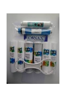 Conax Açık Kasa 8'li Filtre Seti + Filtre Anahtarı