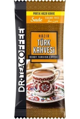 Dr Coffe Hazır Türk Kahvesi Sade (Şekersiz) (24'lü) (24X7 168GR)