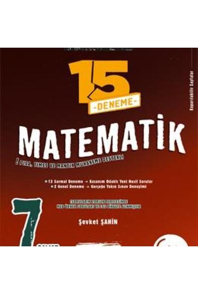 Okyanus 7. Sınıf Master 15 Matematik Deneme