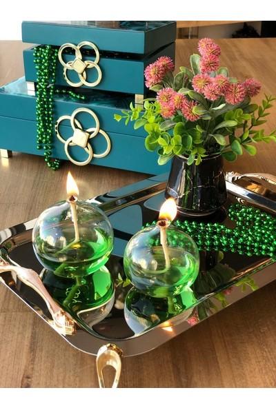 Rossev Misbah Bal Modeli Yeşil Kandil 2'li